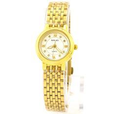 Đồng hồ nữ mạ vàng cao cấp Halei HA494(Mặt trắng)