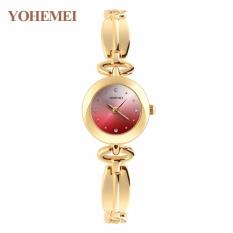 Đồng hồ nữ mạ vàng mặt nhỏ thời trang