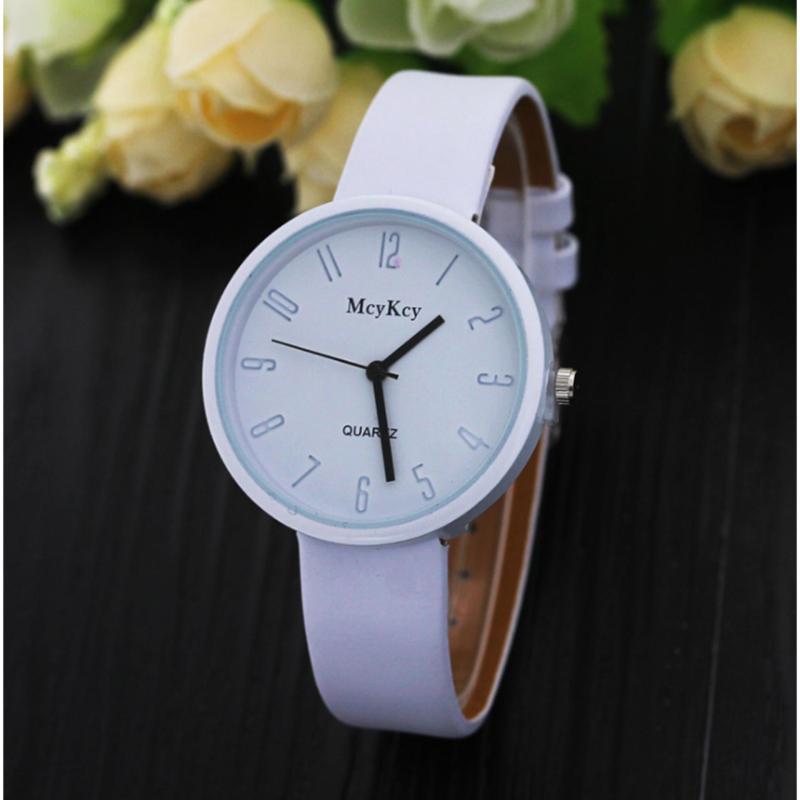 Đồng hồ nữ McyKcy thời trang MC001(trắng) bán chạy