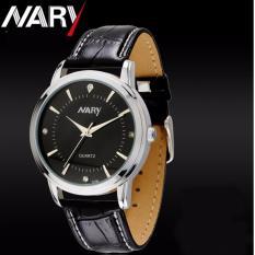 Đồng hồ nữ NARY 6106 DÂY DA ĐẸP (Mặt đen)