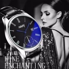 Đồng hồ nữ NARY 6120 DÂY DA ĐẸP (Mặt đen)