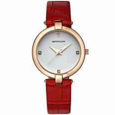 Đồng hồ nữ SANDA SD222 dây da thời trang LYM HOME cao cấp