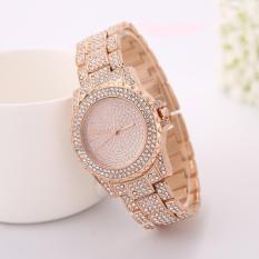 Đồng hồ nữ siêu cấp GENEVA GE233 đính đá + Tặng kèm vòng tay nữ cực xinh