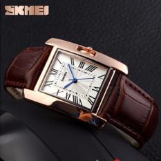 Đồng hồ nữ Skmei 1085 dây da màu nâu