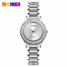 Đồng hồ nữ Skmei 1262 đính đá màu trắng