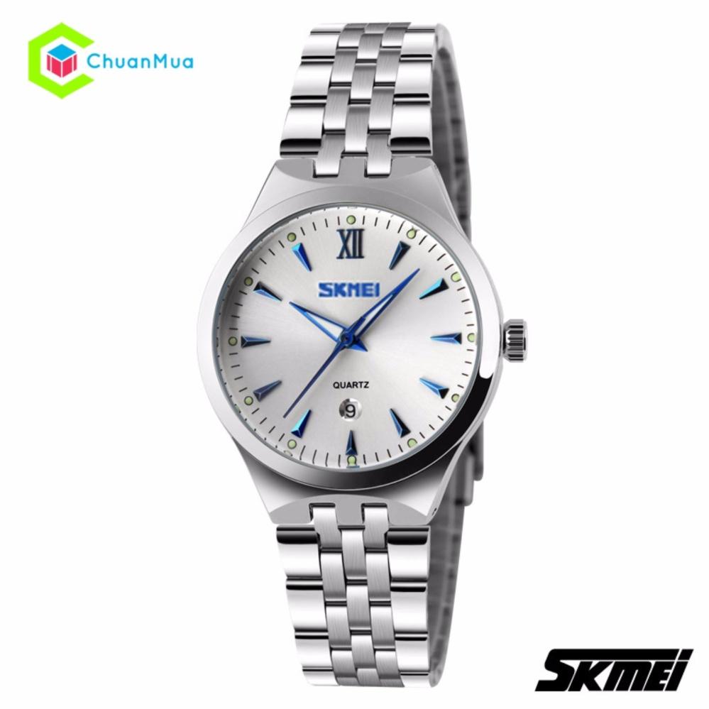 Đồng hồ Nữ Skmei 9071 dây Inox Phiên Bản Mới – Mã: DHA062