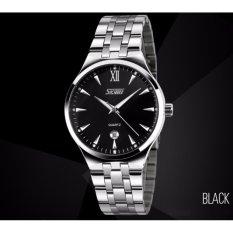 Đồng hồ nữ Skmei 9071 (Silver mặt đen)