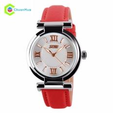 Đồng hồ Nữ Skmei 9075 dây da – Mã: DHA134