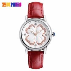 Đồng hồ nữ Skmei 9159 mặt hoa cực xinh