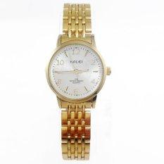 Đồng hồ nữ thời trang cao cấp Halei HA484 (Mặt trắng)