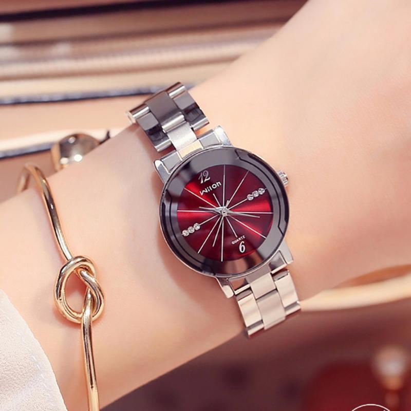 Nơi bán Đồng hồ nữ WILON dây thép vạch múi giờ thời thượng G23-58
