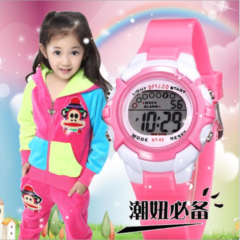 Đồng hồ sport cho bé gái bán chạy