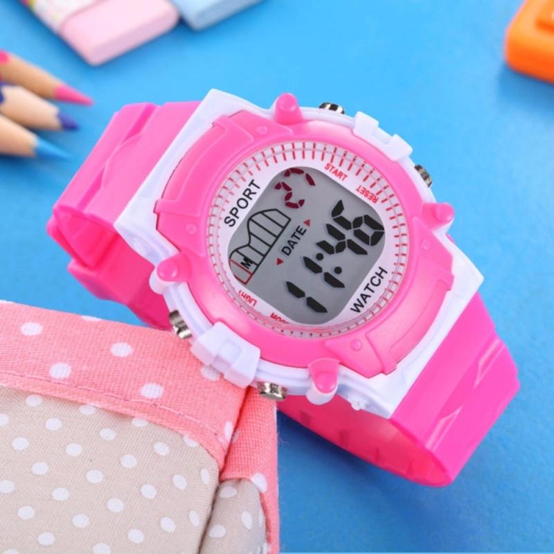 Đồng hồ thể thao cho bé gái mẫu mới t771 (Hồng) bán chạy