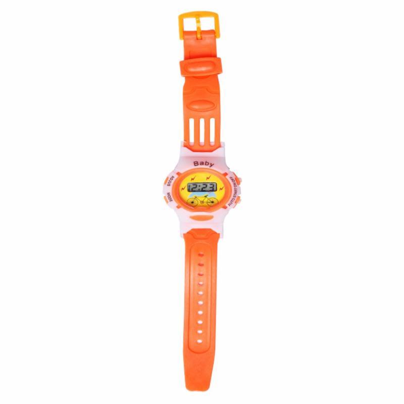 Đồng hồ thể thao dây nhựa trẻ em BABY GE218 (Xanh Chuối) bán chạy