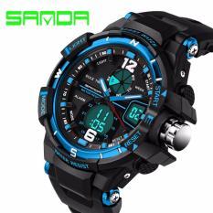 Đồng hồ thể thao nam SANDA siêu bền chống nước (4 màu: Xanh)