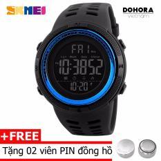 Đồng hồ thể thao nam SKMEI DO39 Dây Cao su Stopwatch Digital
