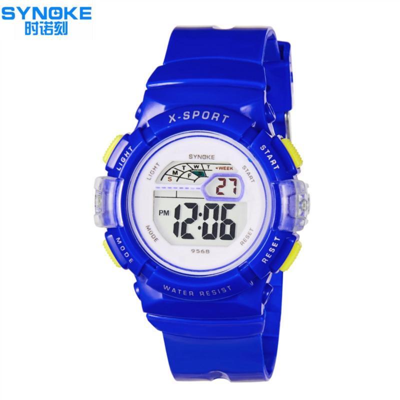 Đồng hồ thể thao trẻ em Synoke 9568 (Trắng) bán chạy