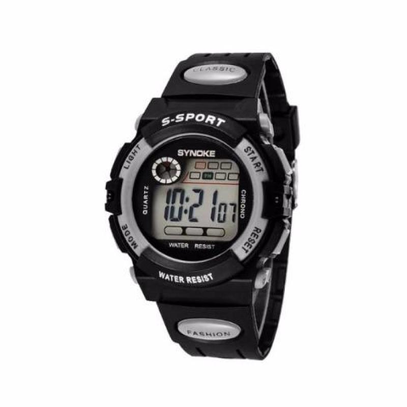 Đồng hồ thể thao trẻ em Synoke 99269 (đen phối bạc) bán chạy