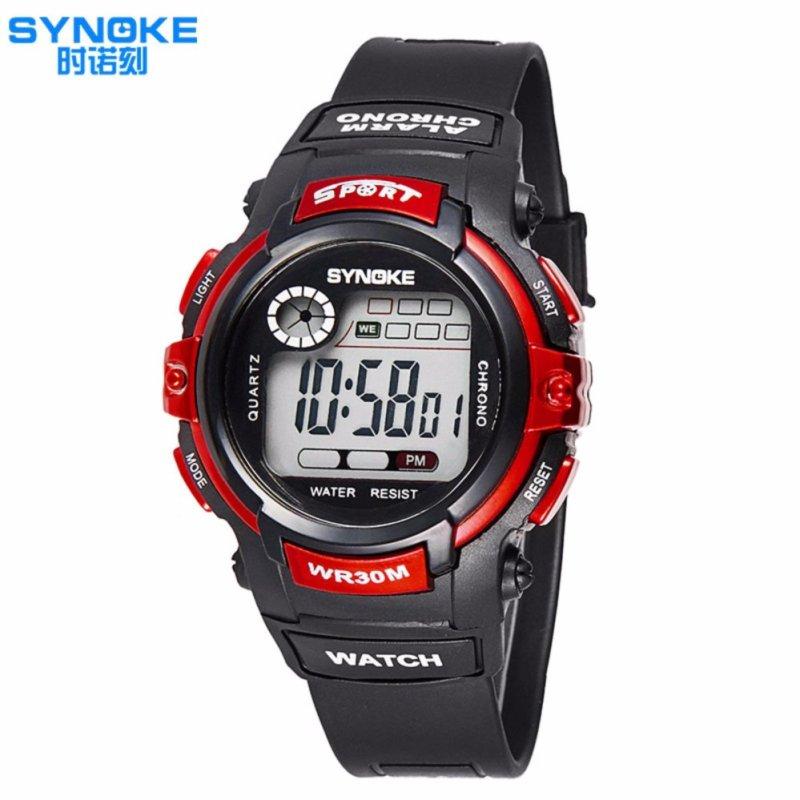 Nơi bán Đồng hồ thể thao trẻ em Synoke 99569  (đỏ)