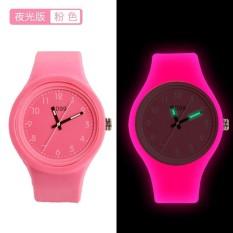 Đồng hồ thời trang unisex (nam – nữ) dây cao su cao cấp Geneva PKHRGE055