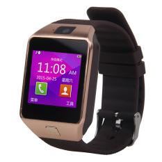 Cập Nhật Giá Đồng hồ thông minh của Eshop Bluetooth thông minh Thẻ SIM GSM dành cho Android Điện thoại (Vàng)  niceE shop