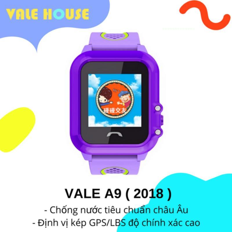 Đồng hồ thông minh gọi điện, định vị GPS trẻ em VALE A9 ( Bằng Lăng Tím ) bán chạy