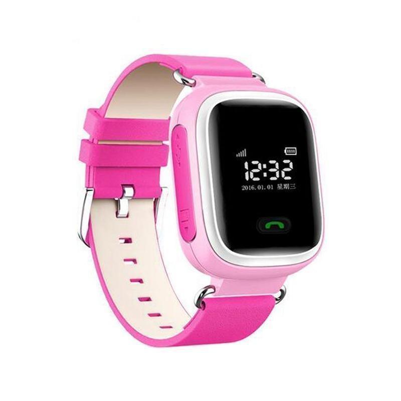 Đồng hồ thông minh Q60 0,99' Inch chống bị lạc trẻ em trên ứng dụng Android IOS màu hồng - intl bán chạy