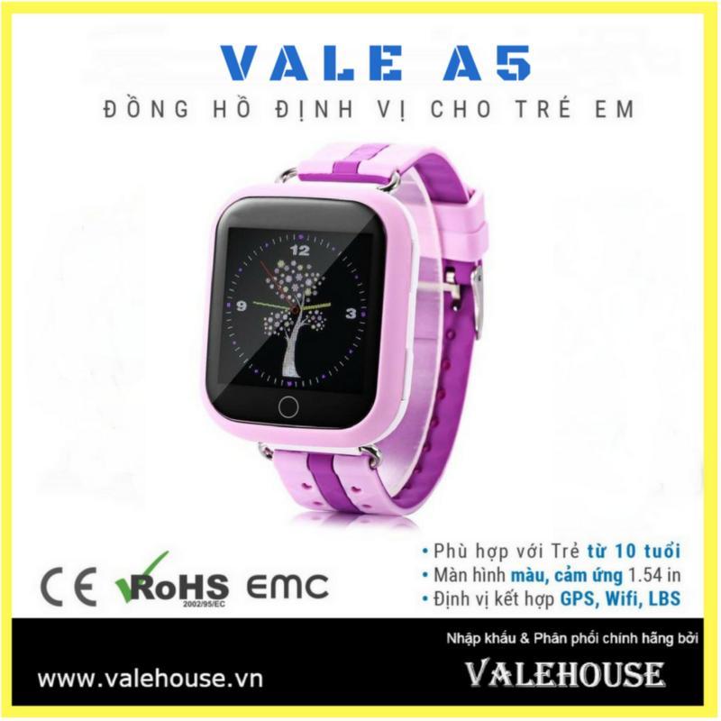 Đồng hồ thông minh trẻ em VALE A5 HỒNG CÁNH SEN 8549 bán chạy