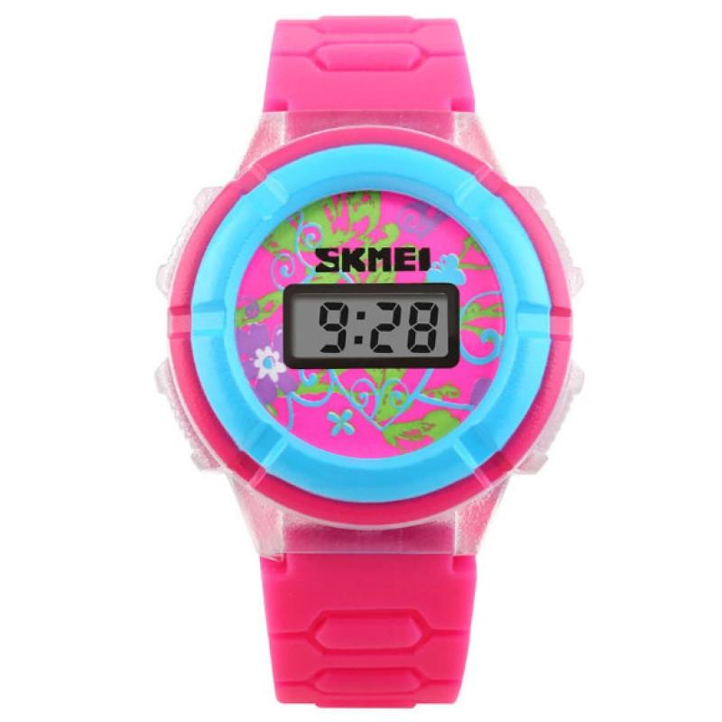 Đồng hồ trẻ em dây cao su Skmei 1097 (Hồng )  . bán chạy
