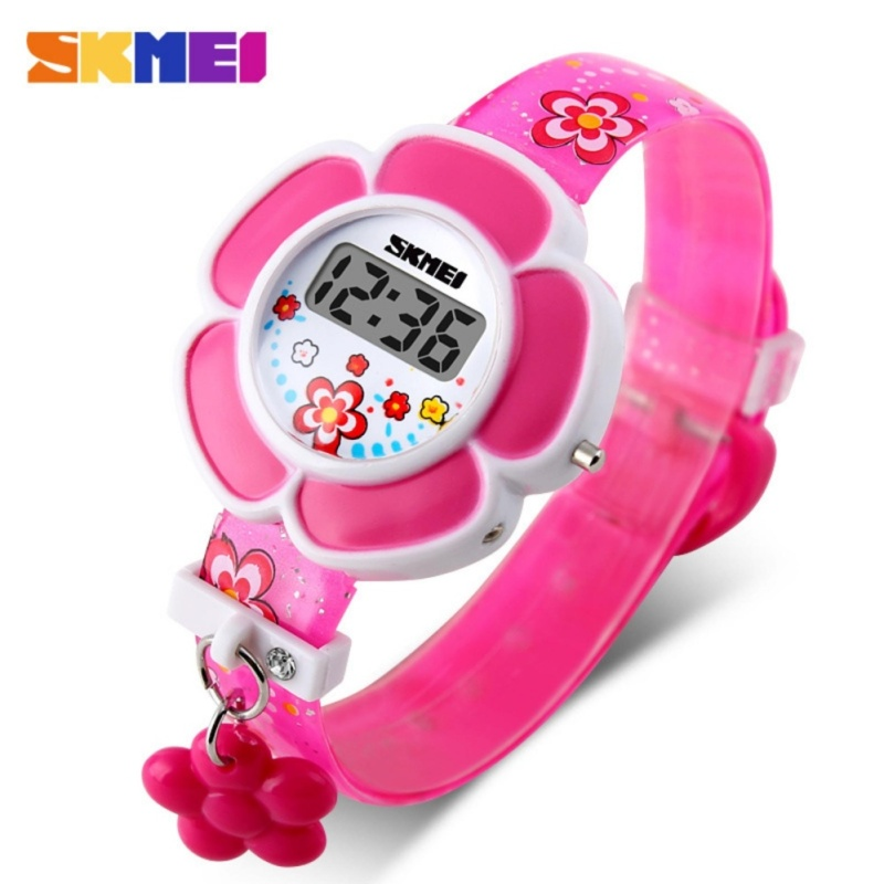 Đồng hồ trẻ em dây cao su Skmei 1144 Màu Hồng bán chạy