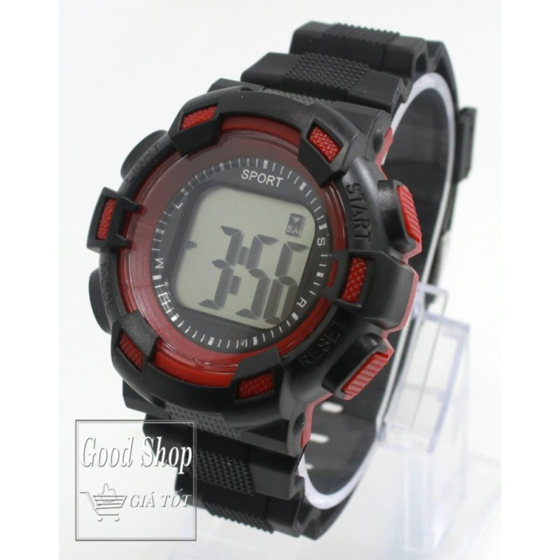 Đồng hồ trẻ em dây cao su Sport 171 (Đỏ) bán chạy