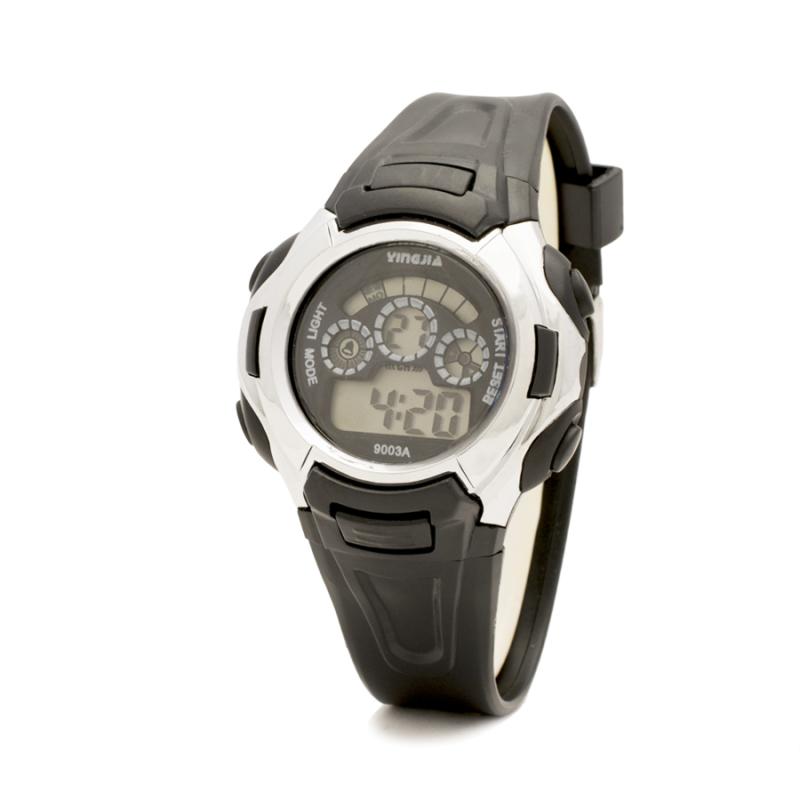 Đồng hồ trẻ em dây nhựa (Đen)Tặng Kèm 02 Đôi Tất bán chạy