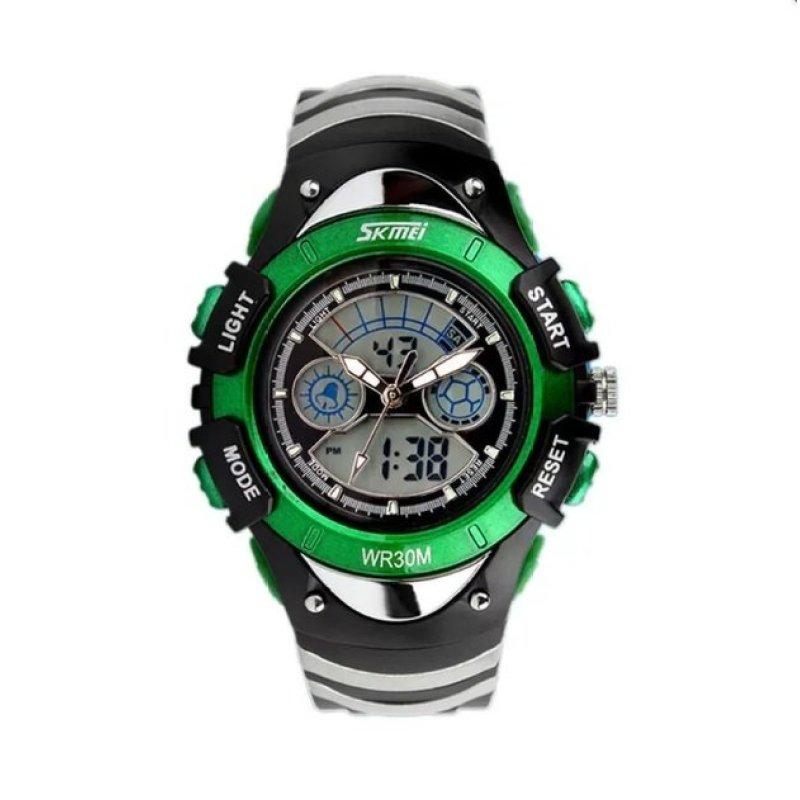 Đồng hồ trẻ em dây nhựa Skmei 0998 (Xanh lá cây) bán chạy