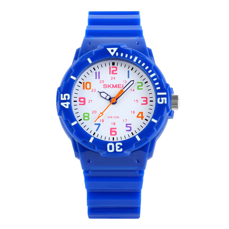 Đồng hồ trẻ em dây nhựa Skmei 1043 (Đen) bán chạy