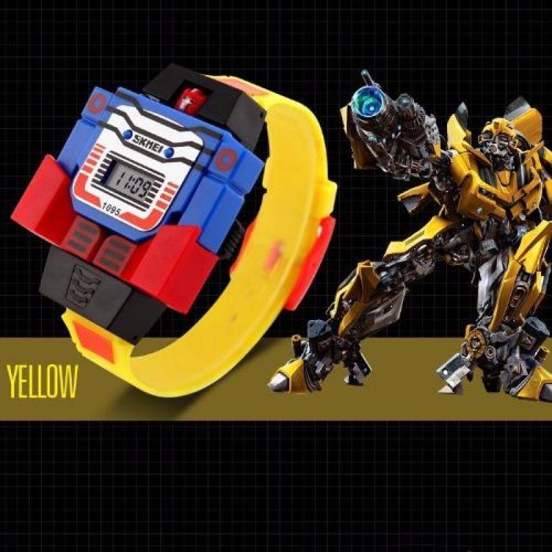 Nơi bán Đồng hồ trẻ em dây nhựa SKMEI 1095 (Vàng)