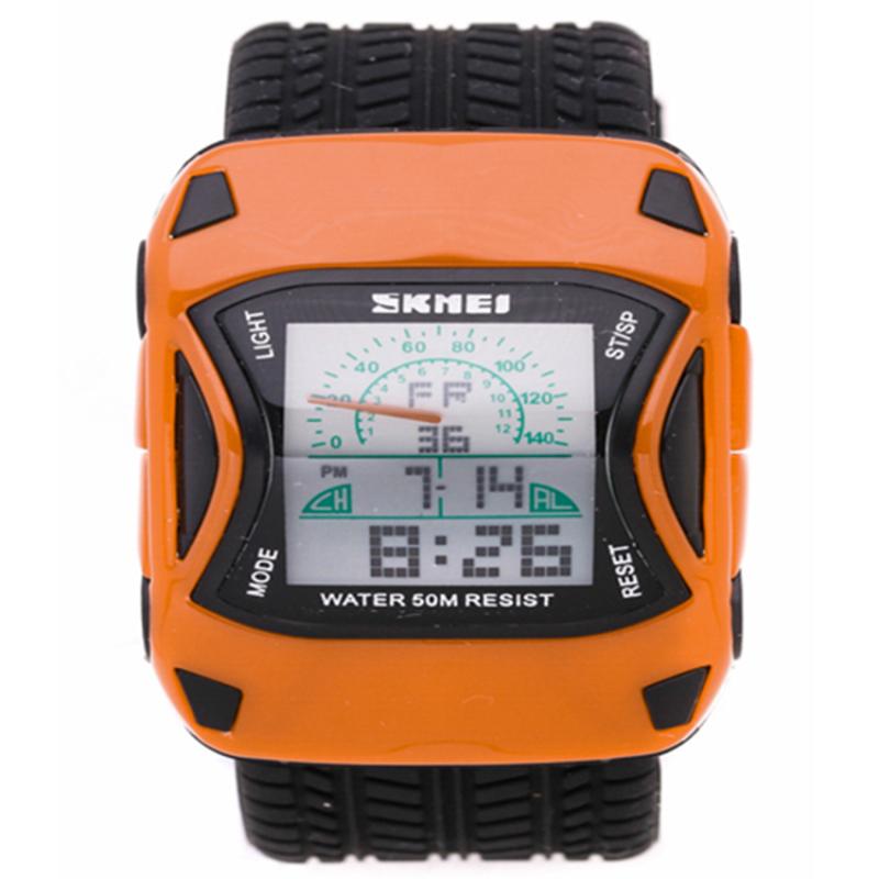 Nơi bán Đồng hồ trẻ em dây nhựa SKMEI P-Sk027 (Cam)