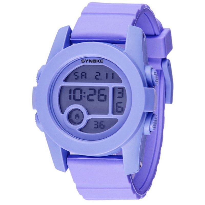 Đồng hồ trẻ em dây nhựa Synoke 67286 (Tím) bán chạy