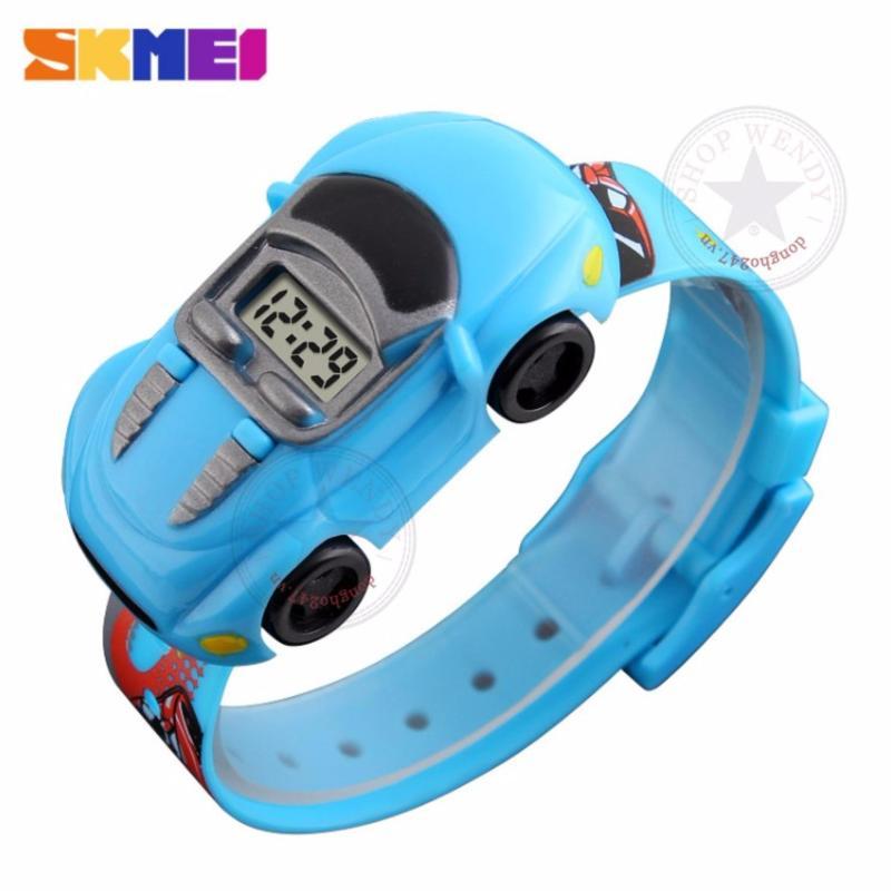 Đồng hồ trẻ em Skmei CH359-4 (Xe hơi-Đỏ) bán chạy