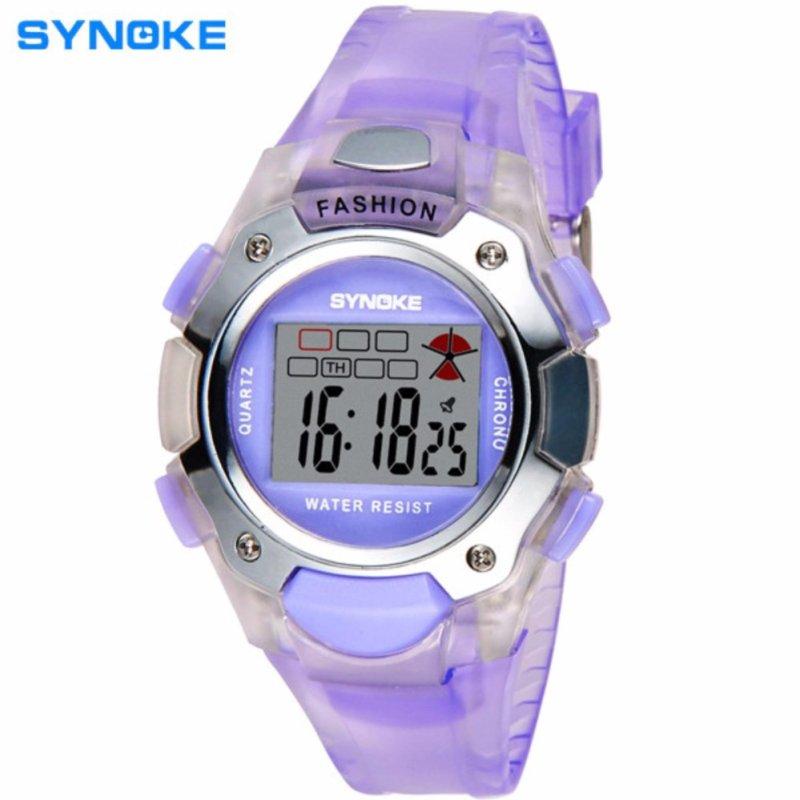 Đồng hồ trẻ em synoke 99319 (Tím) bán chạy