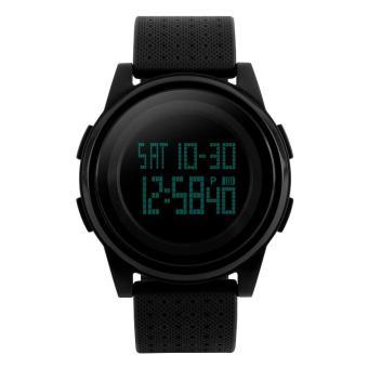 Đồng hồ Unisex điện tử dây silicone SKMEI DG1206 (Đen)