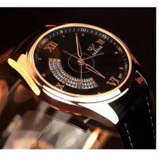 Đồng hồ Yazole 3 kim cao cấp- Hàng nhập khẩu( Màu đen)