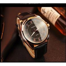 Đồng hồ yazole 336 dây da cổ điển