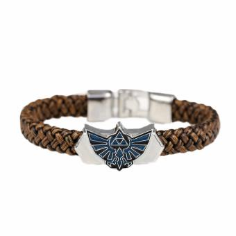 Fancyqube The Legend of Zelda PU Leather Bracelet - intl