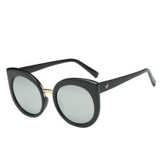 Giảm Giá Fashion Women Female Girl Lady Cat Eye Metal Sunglasses(Black)-one size – intl   UNIQUE AMANDA