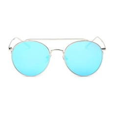 Đánh Giá Female Chic Circle Frame Colorful Sunglasses(Blue)-one size – intl   UNIQUE AMANDA