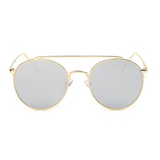 Cập Nhật Giá Female Chic Circle Frame Colorful Sunglasses(White)-one size – intl   UNIQUE AMANDA