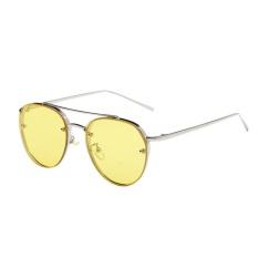 Sportschannel Nữ Sang Trọng Biển Nhiều Màu Sắc Ống Kính (Vàng)-quốc tế(Grey Yellow One Size)