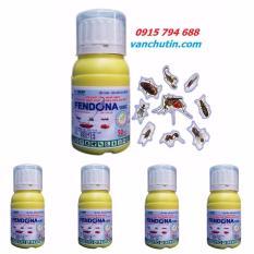 Fendona Combo 05 lọ – dung dịch diệt muỗi, côn trùng Fendona 10SC 50ml ngăn ngừa dịch ZIKA (Thụy Sỹ)