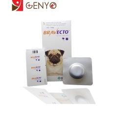 [CHÍNH HÃNG] Thuốc trị viêm da, demodex trên chó 4-10kg – Thuốc Bravecto