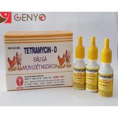 Cập Nhật Giá 10 Chai Thuốc Trị Gà Chim Sưng Mắt Lên Đậu – Thuốc cho gà – thuốc trị đậu gà